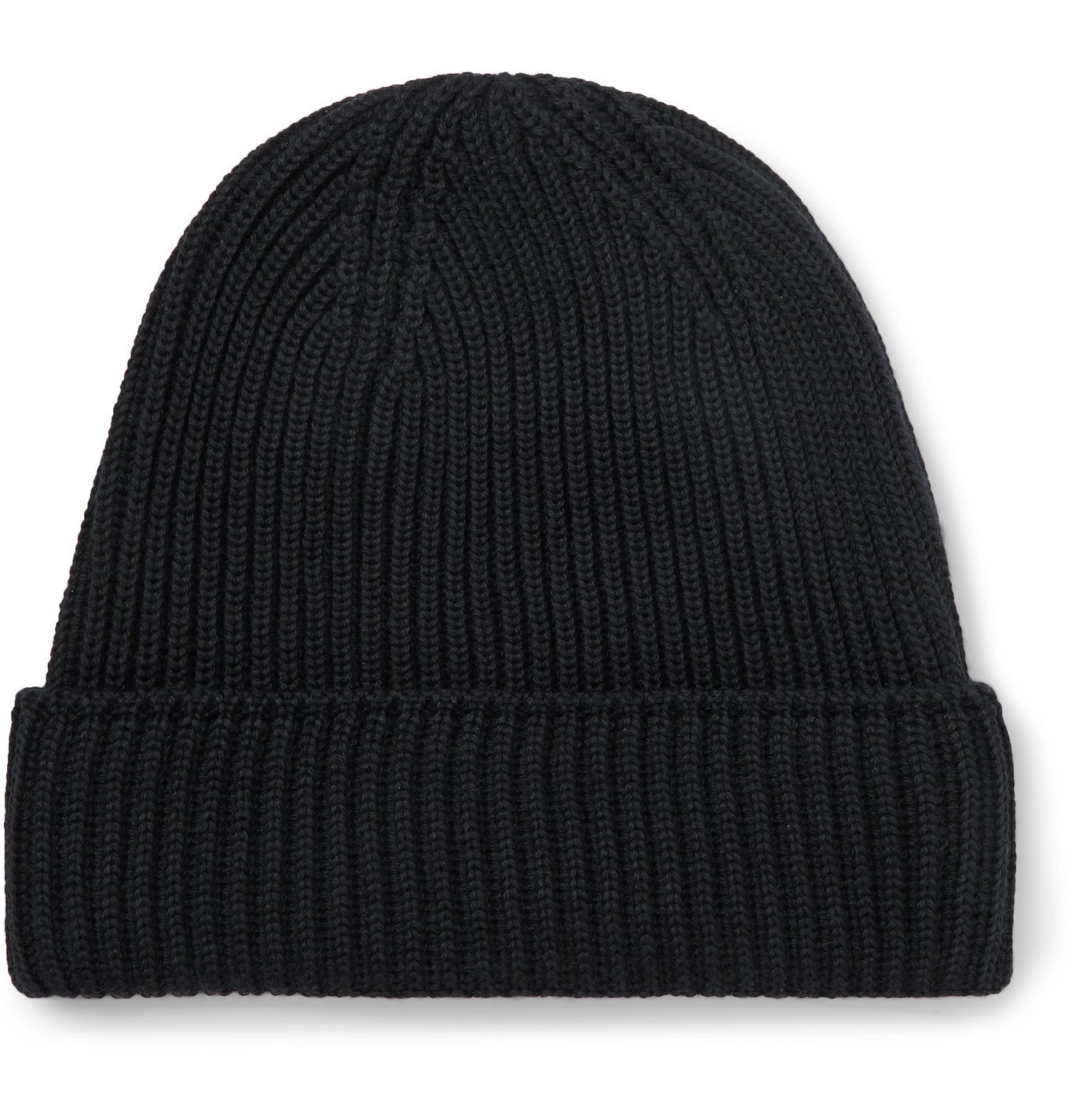 Photo: S.N.S. Herning - Mental Ribbed Virgin Wool Beanie - Blue