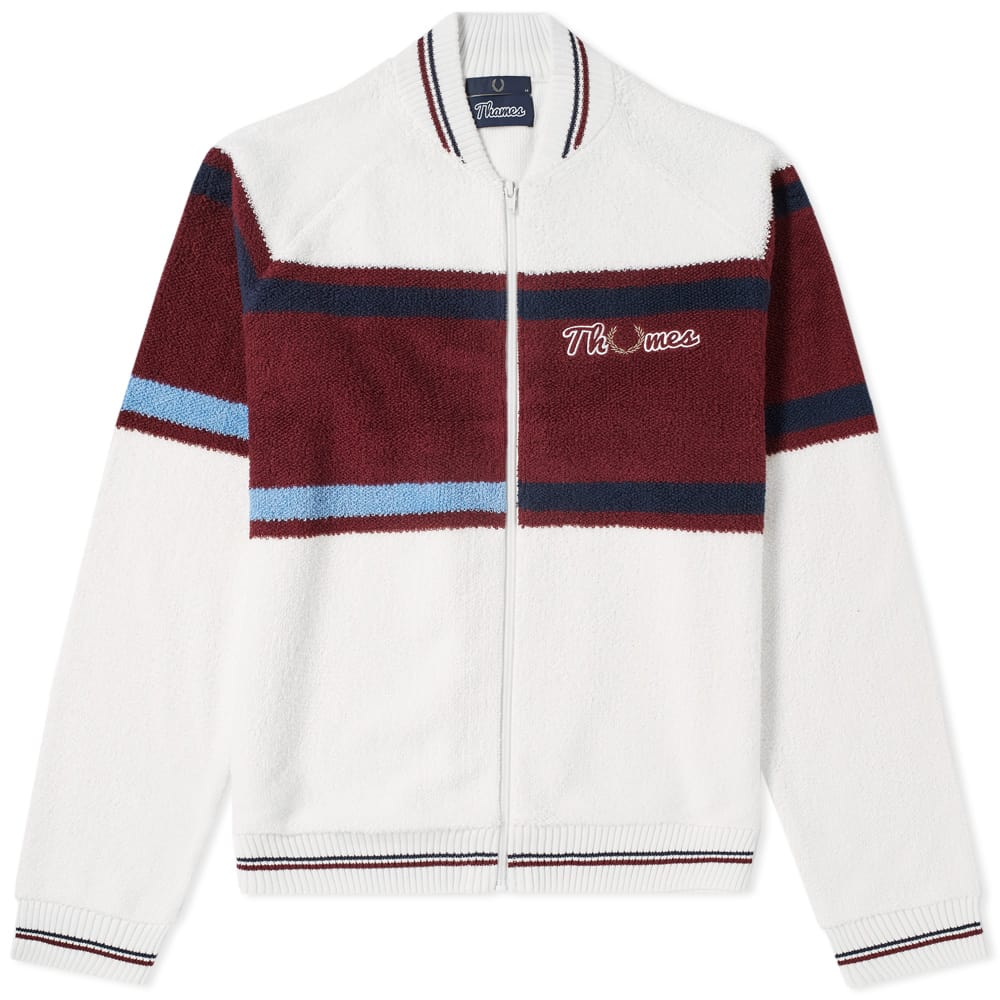 Photo: Fred Perry x Thames Loop Knit Zip Bomber
