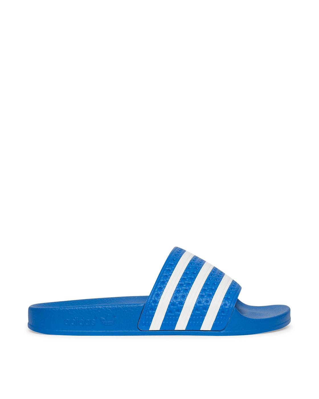 Photo: Adidas Originals Adilette Slides Glory Blue/Ftwr White