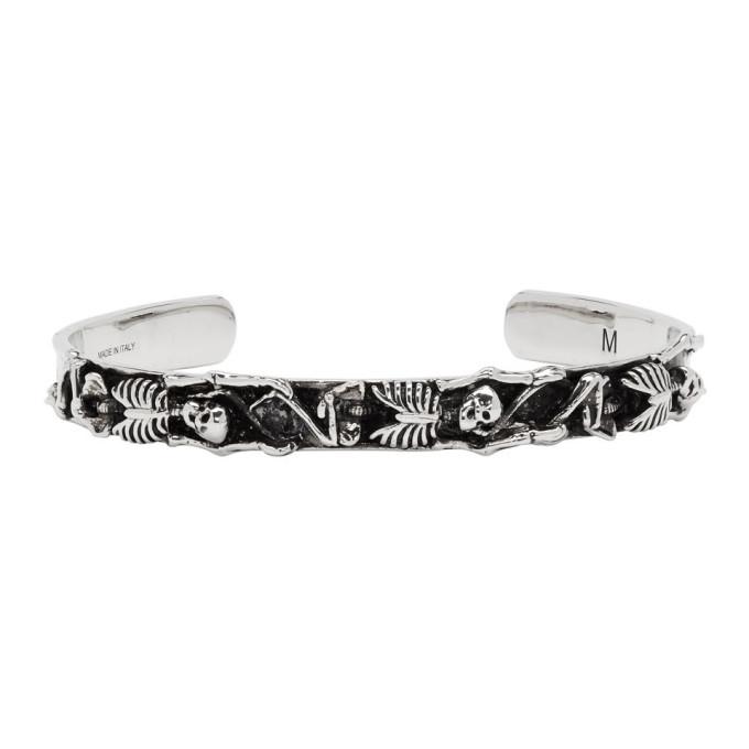 Photo: Alexander McQueen Silver Dancing Skeleton Bracelet