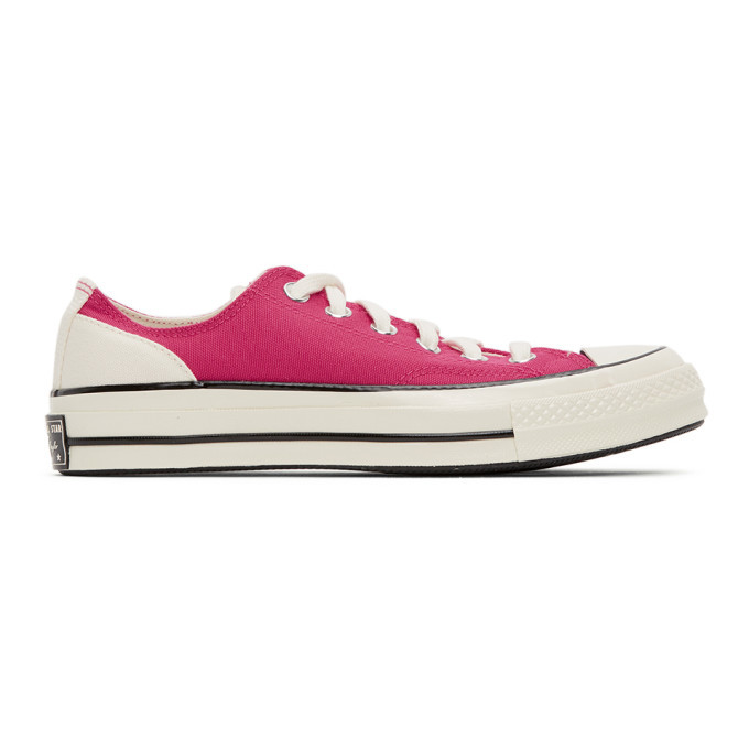 Photo: Converse Pink Psychedelic Hoops Chuck 70 OX Sneakers