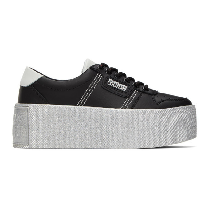 Photo: Versace Jeans Couture Black High Box Sneakers