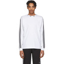 adidas Originals White Trefoil Long Sleeve T-Shirt