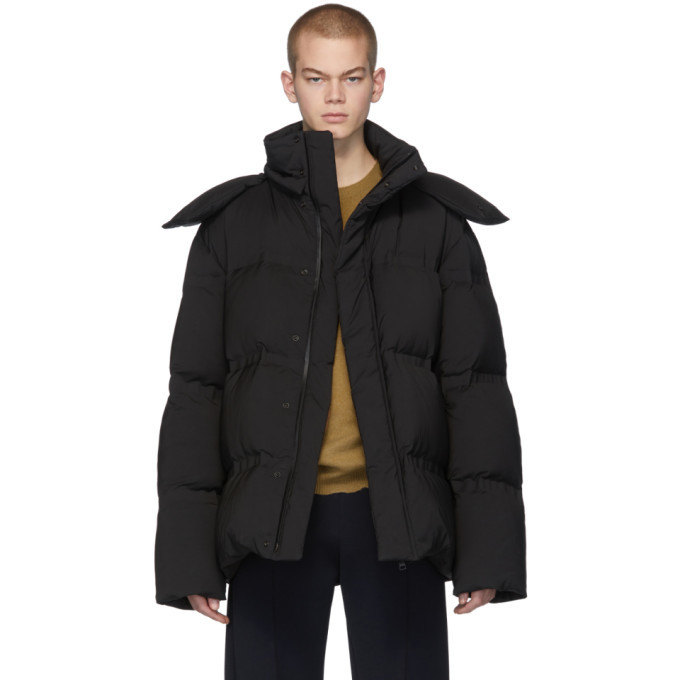 Photo: Bottega Veneta Black Down Matt Jacket