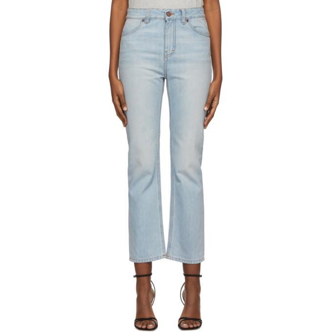Photo: Victoria Victoria Beckham Blue Cali Jeans