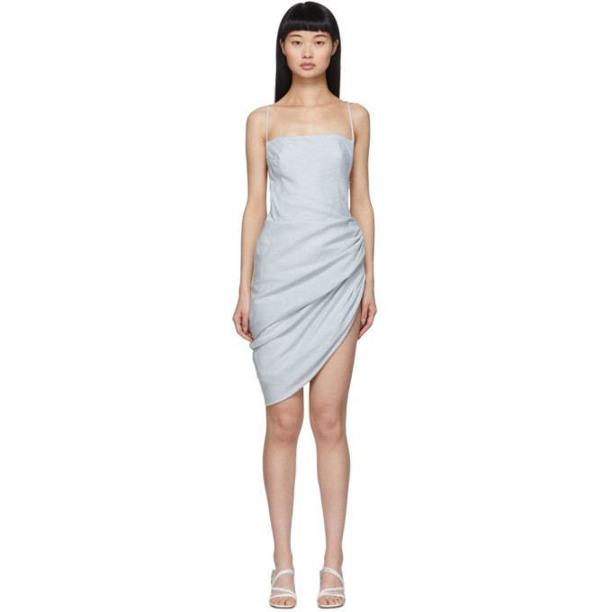 Photo: Jacquemus Blue La Robe Saudade Dress