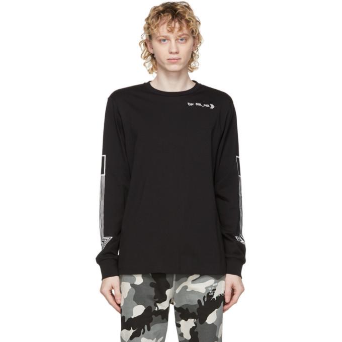 Photo: Diesel Black T-Just-LS-A8 Long Sleeve T-Shirt