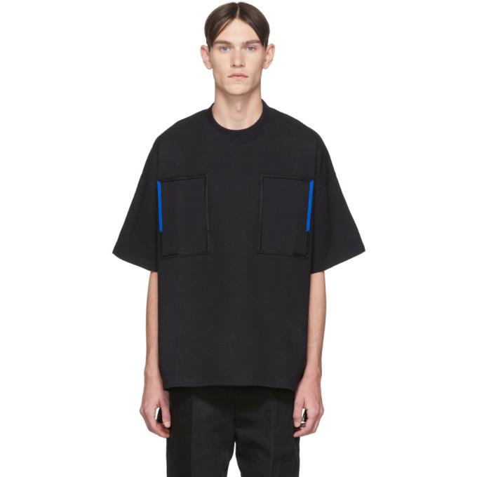 Photo: Jil Sander Black Embroidery T-Shirt