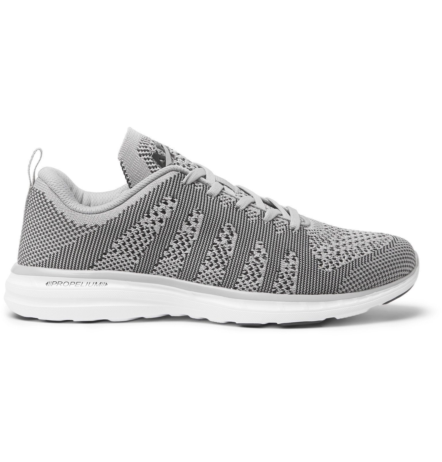 Photo: APL Athletic Propulsion Labs - TechLoom Pro Running Sneakers - Gray
