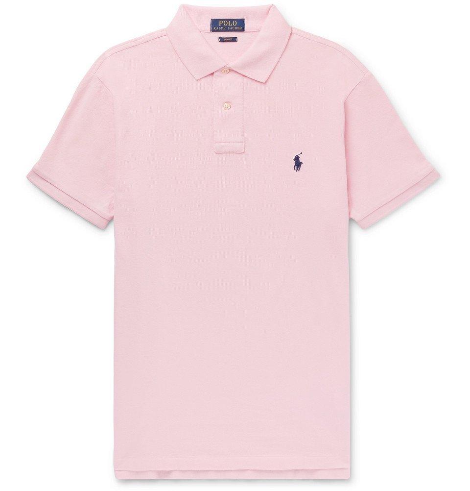 Polo Ralph Lauren - Slim-Fit Cotton-Piqué Polo Shirt - Men - Pink