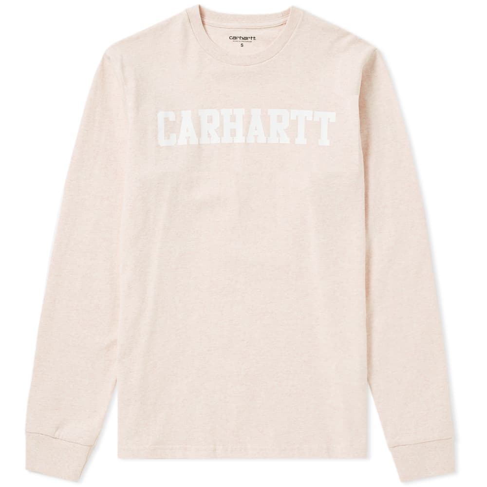 Photo: Carhartt Long Sleeve College Tee