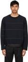3.1 Phillip Lim Navy Crewneck Sweatshirt