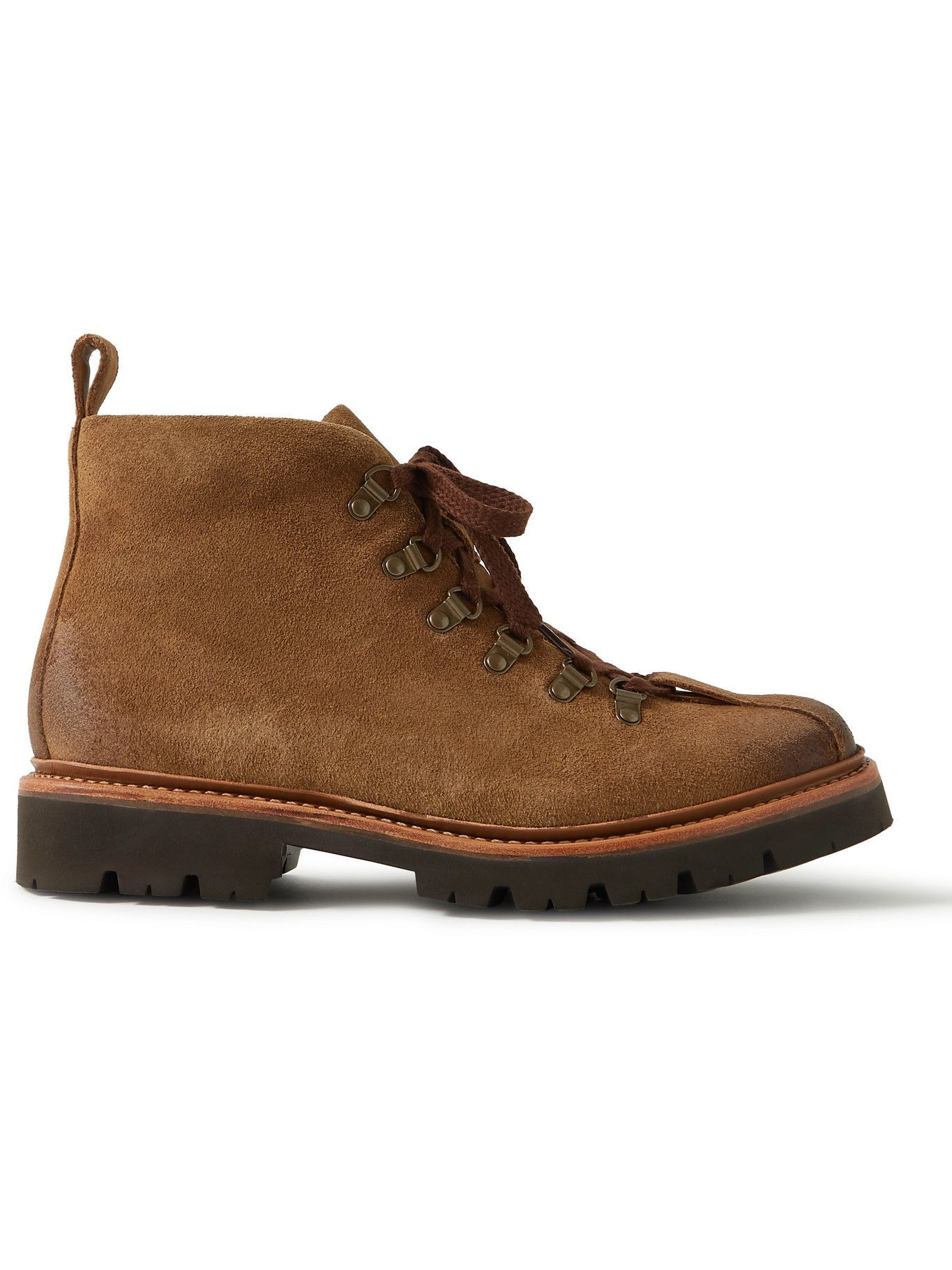 Photo: Grenson - Bobby Suede Boots - Brown