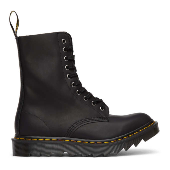 Photo: Dr. Martens Black Made In England Ripple 1490 Boots