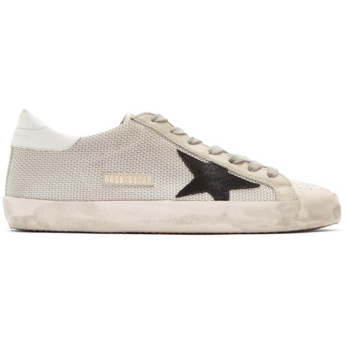 Photo: Golden Goose Grey Cord Superstar Sneakers