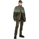 Sacai Khaki Melton Wool Padded Blouson Jacket