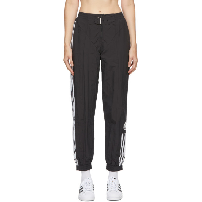 adidas Originals Black Paolina Russo Edition Striped Track Pants