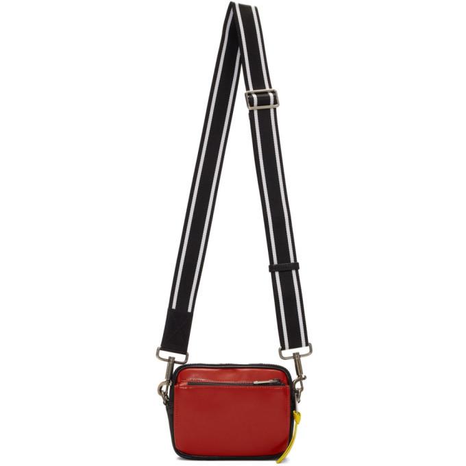 Photo: Givenchy Red and Black MC3 Messenger Bag