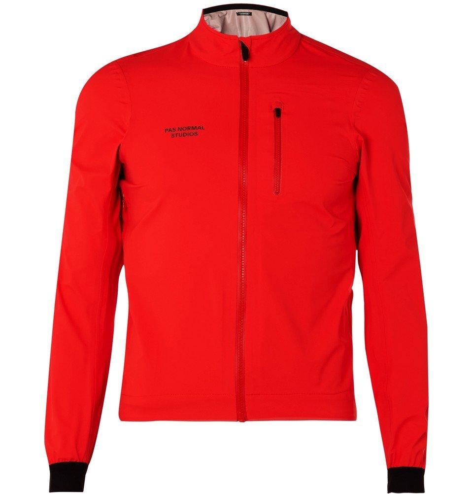 Photo: Pas Normal Studios - Shield Shell Cycling Jacket - Men - Red