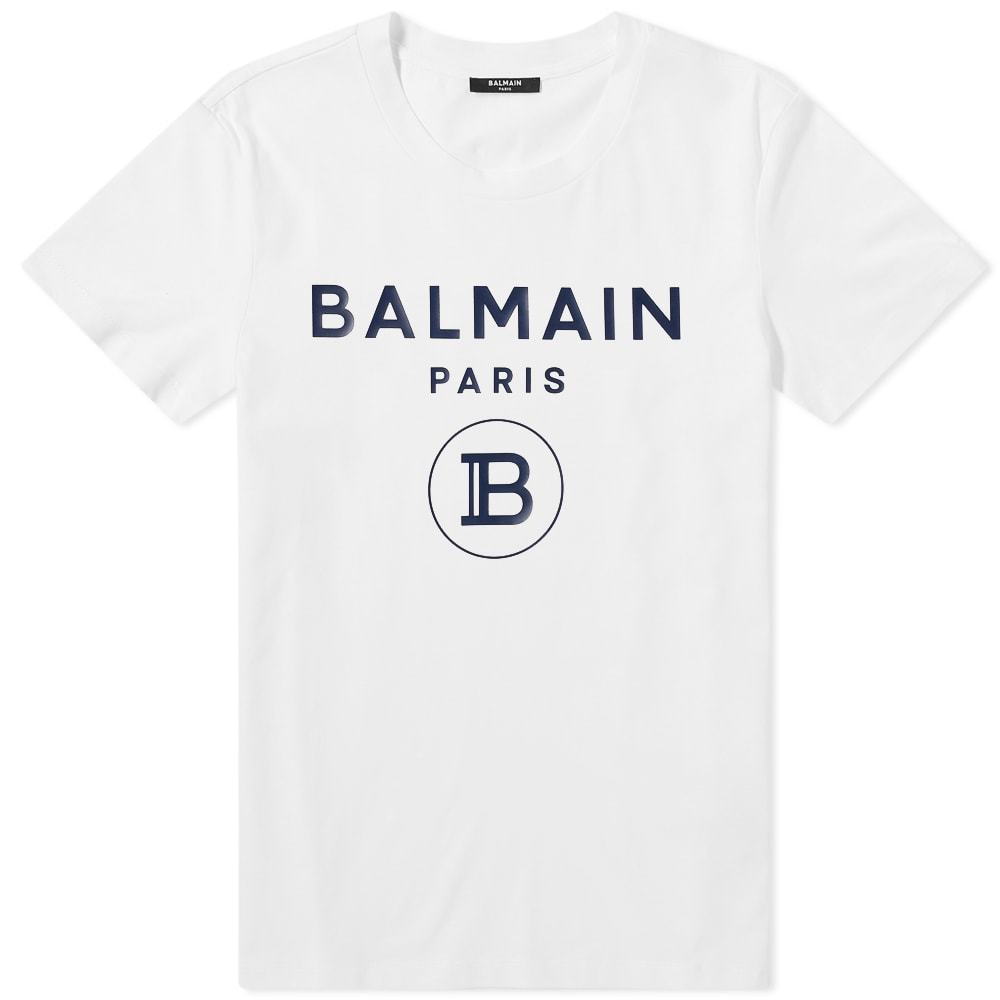 Photo: Balmain Rubber B Logo Tee