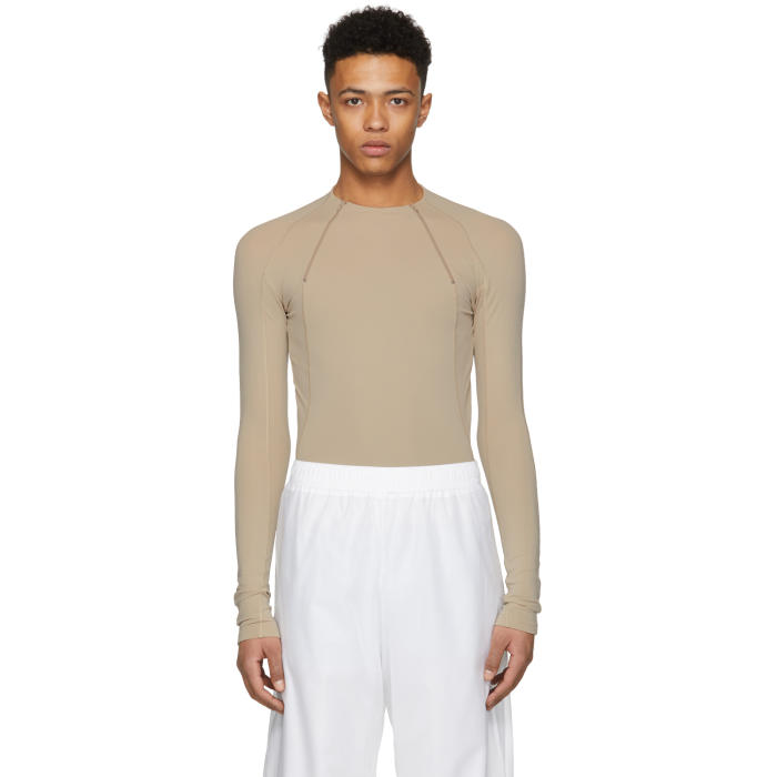 GmbH Beige Ande Zip Pullover