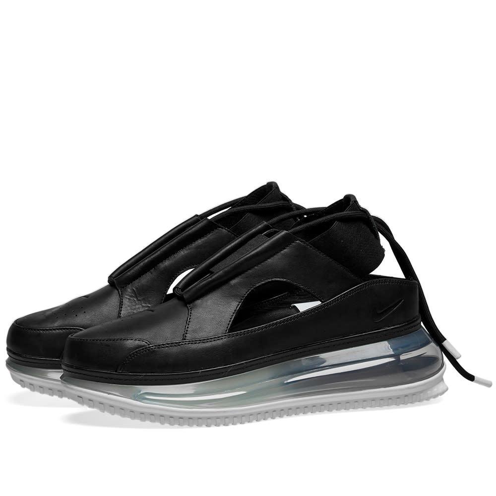 Photo: Nike Air Max 720 FF Black, Metallic Silver & White