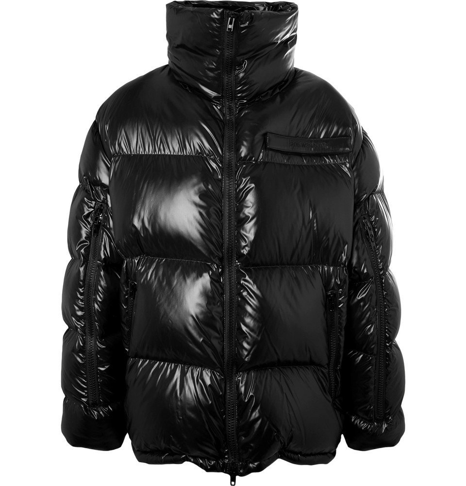 Photo: CALVIN KLEIN 205W39NYC - Oversized quilted Shell Down Jacket - Black