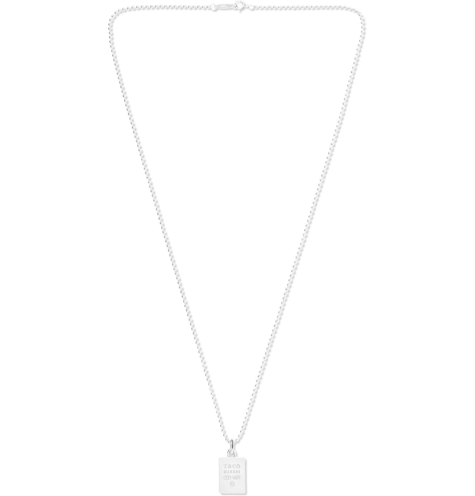 Photo: Tiffany & Co. - Tiffany 1837 Makers Sterling Silver Necklace - Silver
