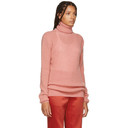 Nina Ricci Pink Mohair and Wool Turtleneck
