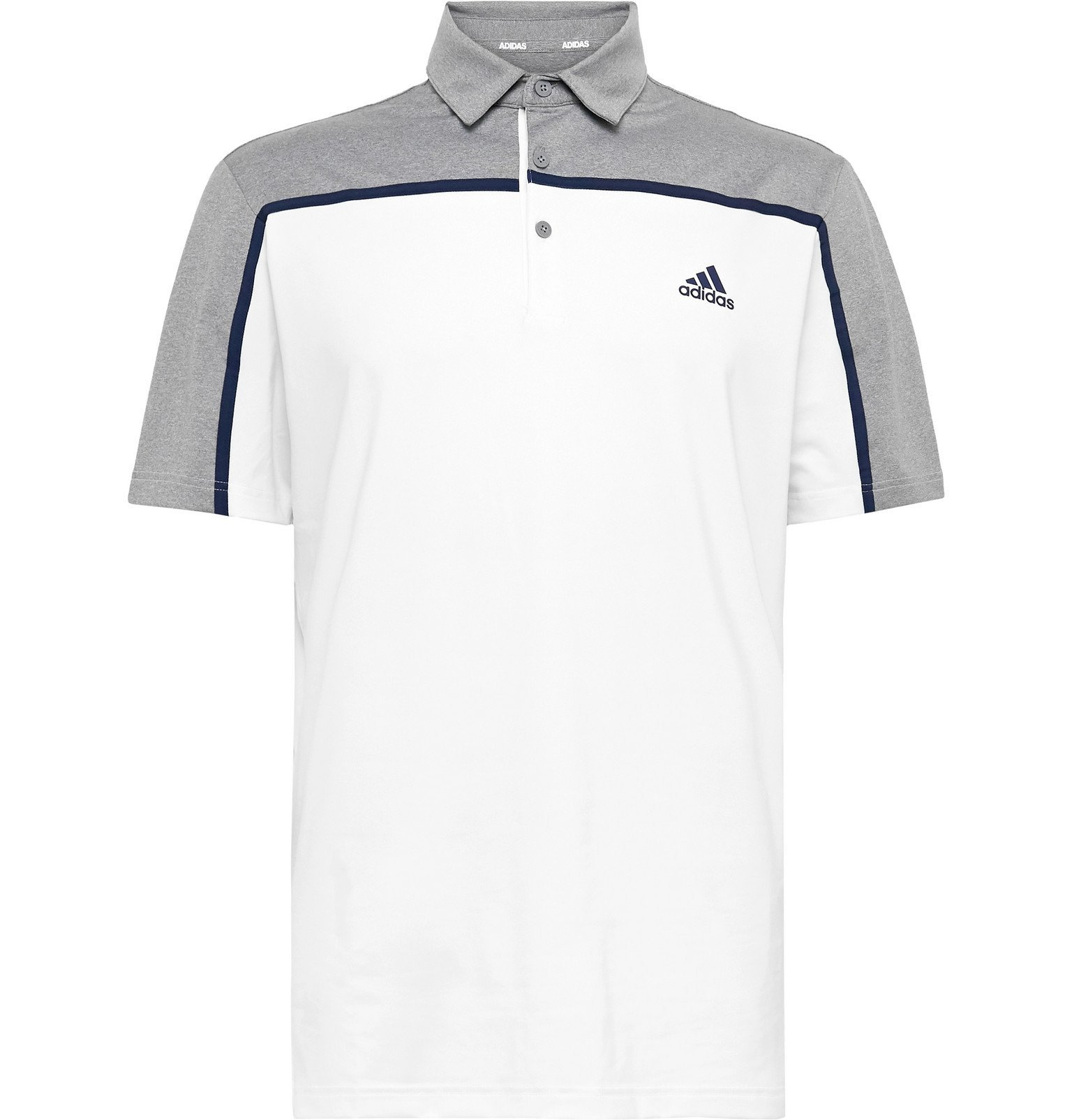 Adidas Golf - Ultimate 365 Colour-Block Stretch-Jersey Golf Polo ...