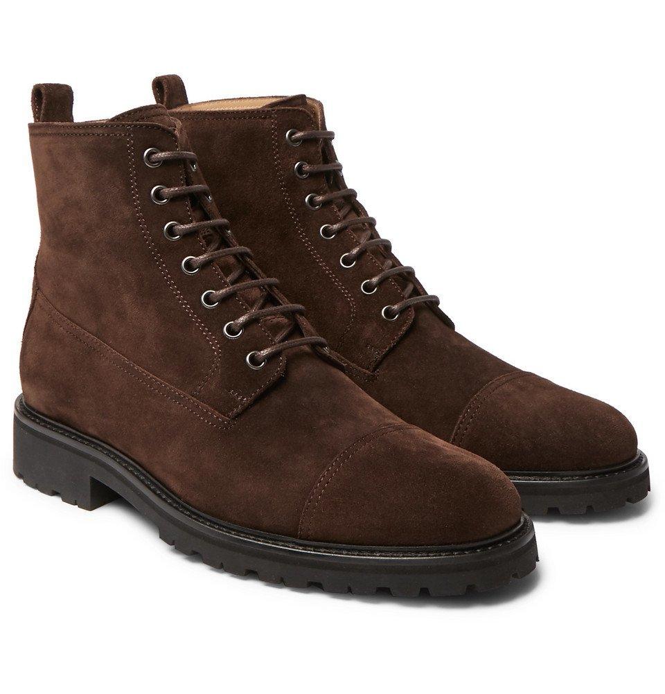 Belstaff - Alperton 2.0 Suede Boots - Brown