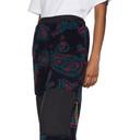 Aries Navy Fleece Paisley Lounge Pants