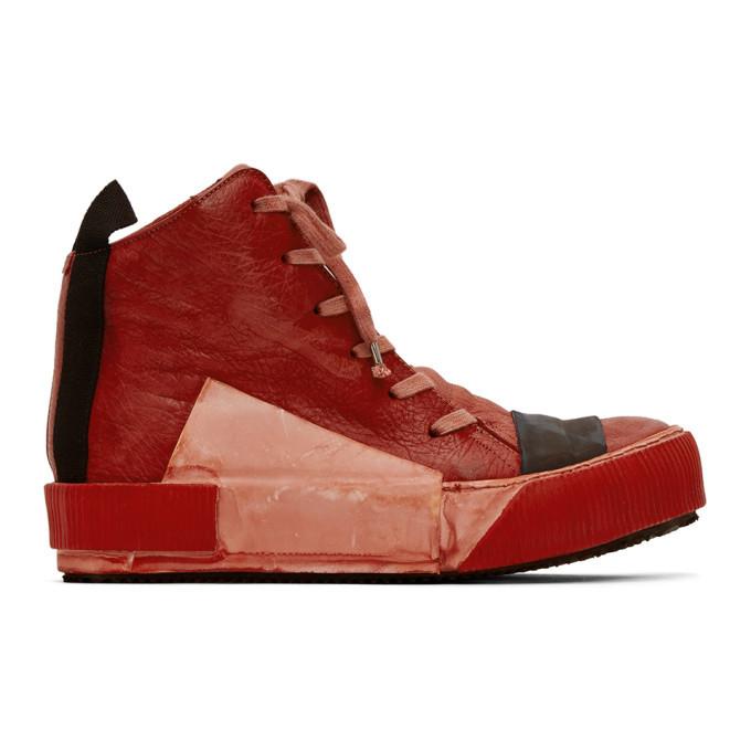 Photo: Boris Bidjan Saberi Red Bamba Sneakers