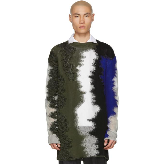Photo: Jil Sander Multicolor Multi-Knit Sweater