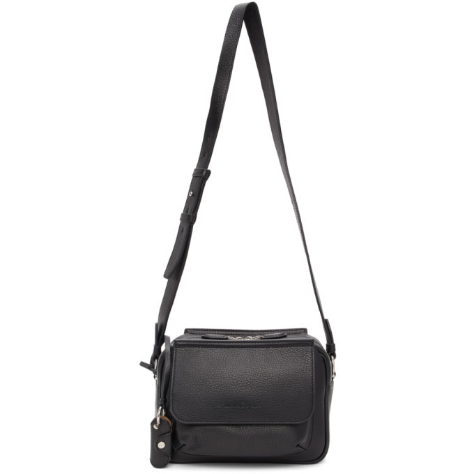Photo: Salvatore Ferragamo Black Tornabuoni Messenger Bag