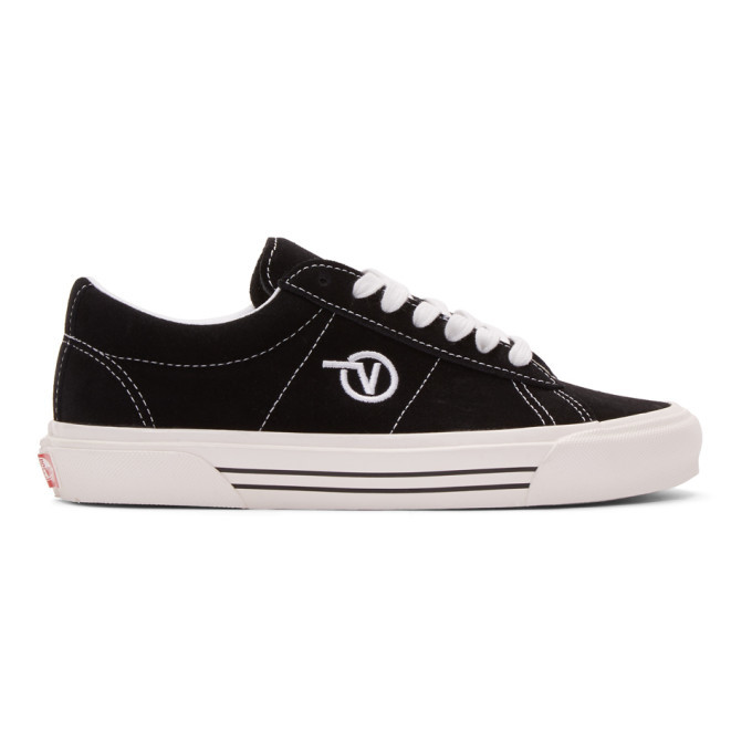 Photo: Vans Black Anaheim Factory Sid DX Sneakers