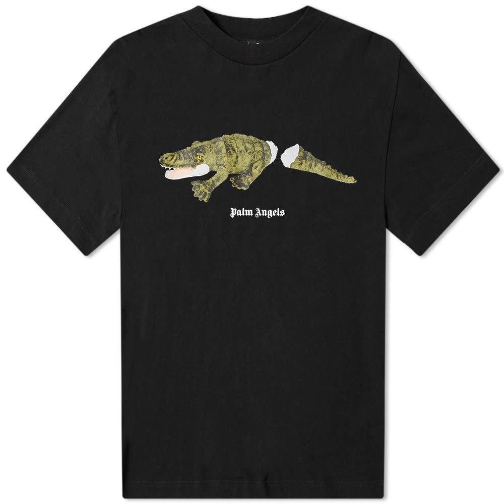 Photo: Palm Angels Crocodile Back Logo Tee