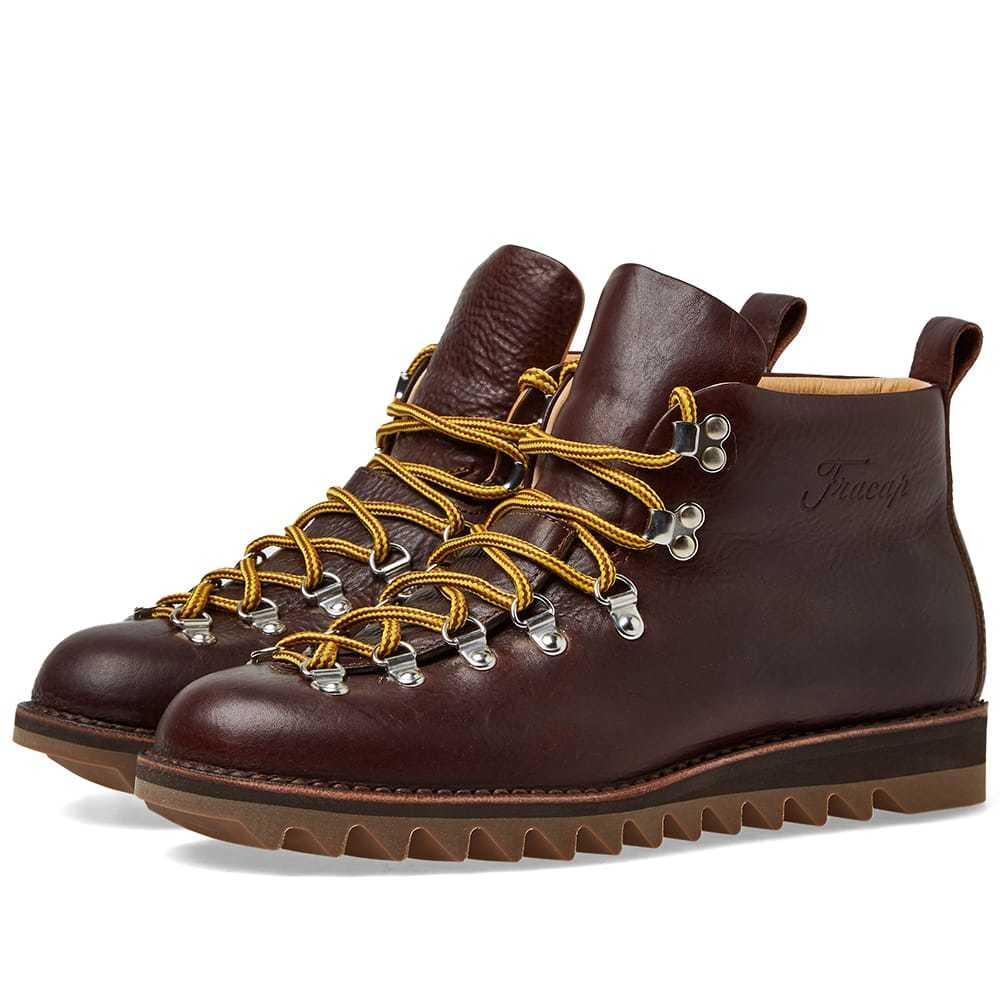 Photo: Fracap M120 Ripple Sole Scarponcino Boot Dark Brown