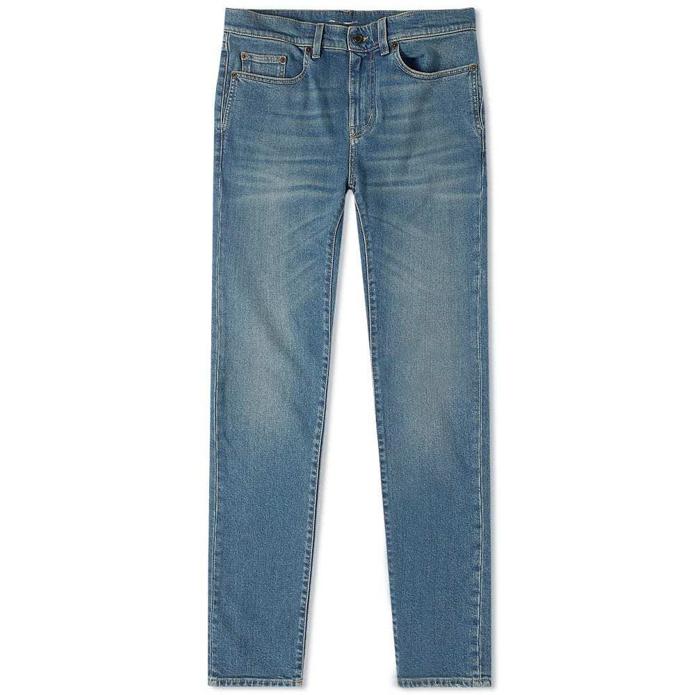 Photo: Saint Laurent Skinny Fit Low Waist Jean