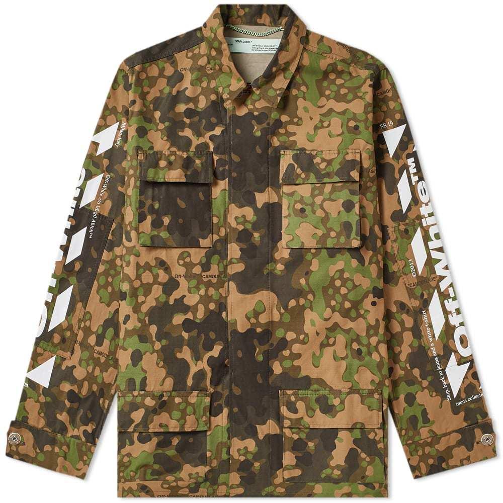 79e83758a57c Off-White Patch Varsity jacket Blue Off-White
