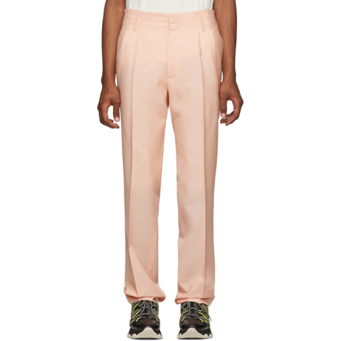 Photo: Lanvin Pink Mohair Pleated Trousers