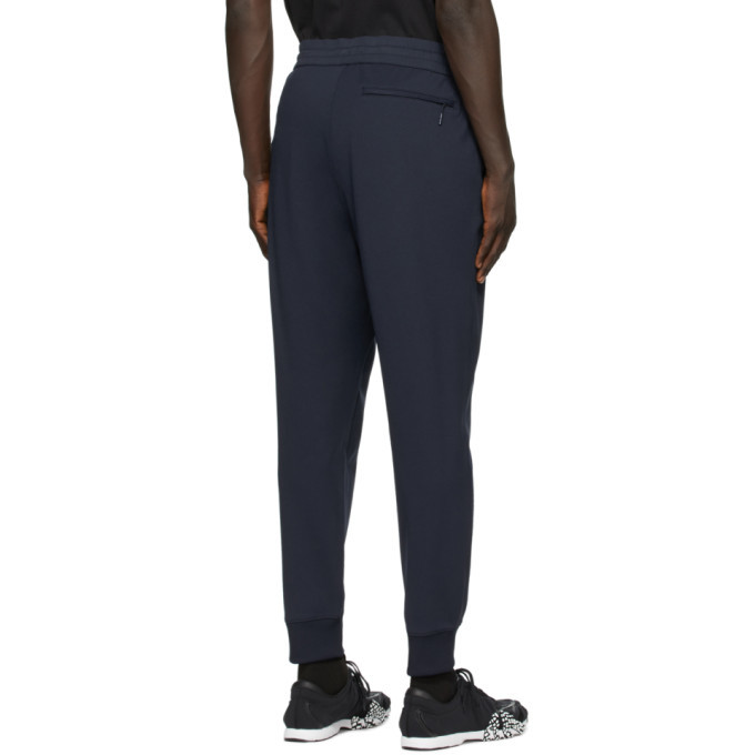 Y-3 Navy Classic Cuff Lounge Pants