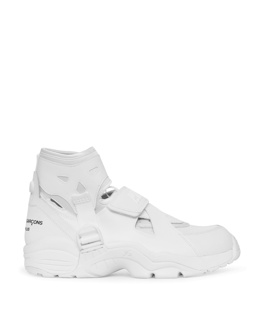 Photo: Comme Des Garcons Homme Plus Nike Air Carnivore Sneakers White