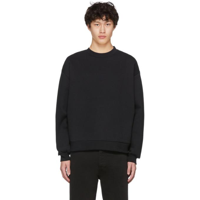 Photo: Random Identities Black Embroidered Logo Sweatshirt
