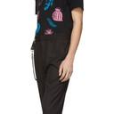 Ksubi Black Check Sid Trousers