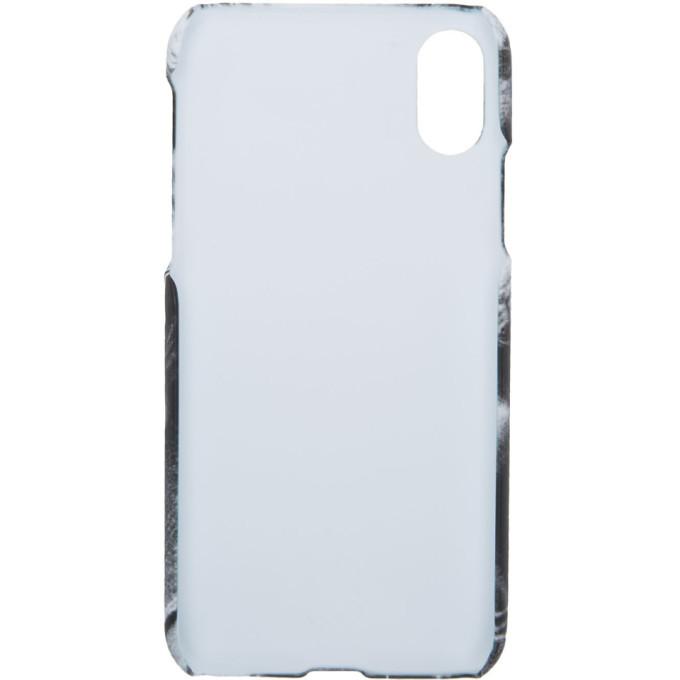 Raf Simons White iPhone X Case