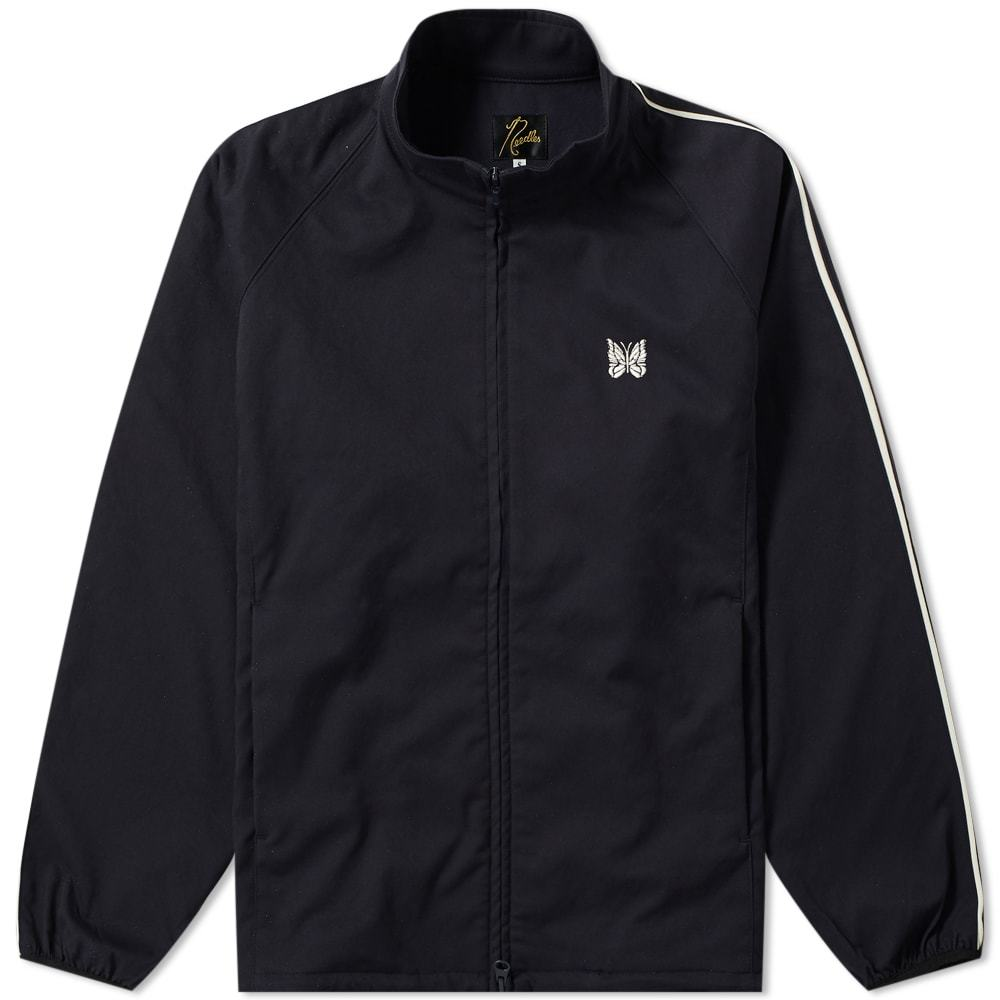 Photo: Needles Run-Up Track Jacket Navy