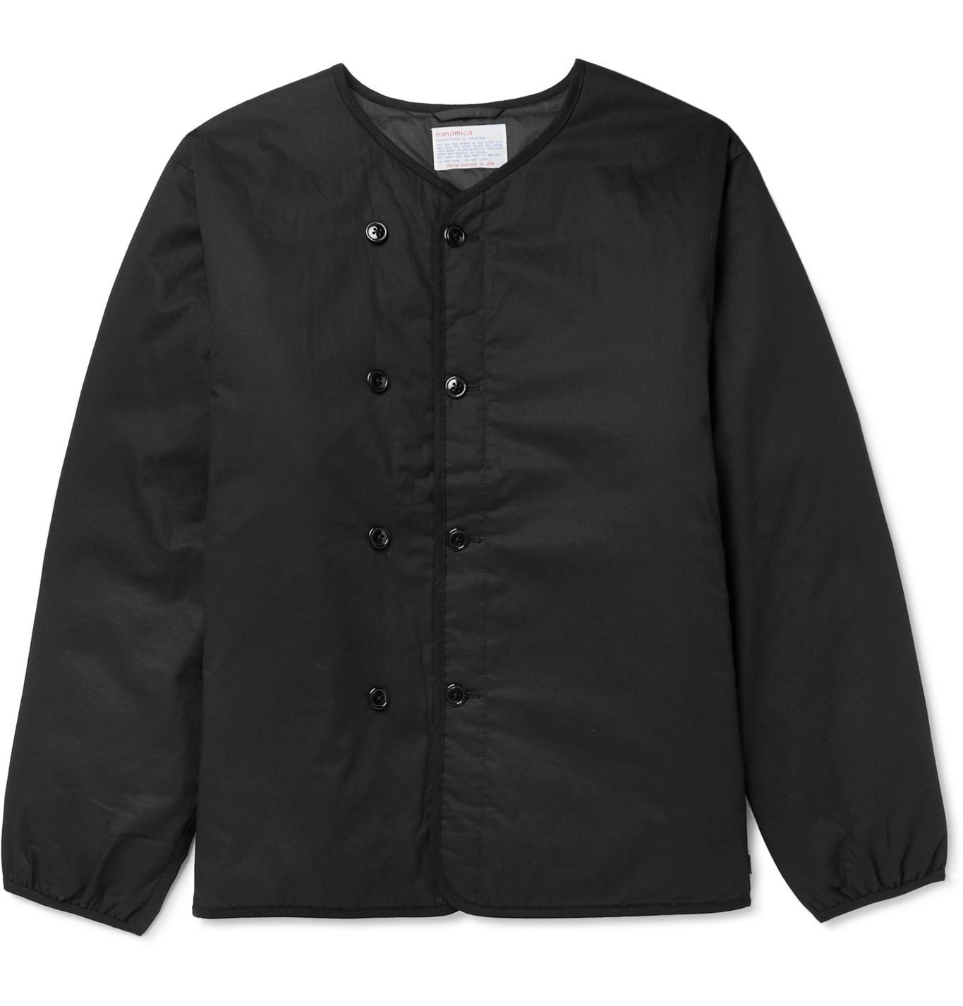 Photo: nanamica - Kodenshi Padded Cotton Down Jacket - Black
