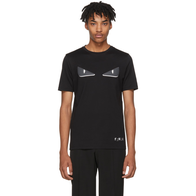 Photo: Fendi Black Bag Bugs T-Shirt