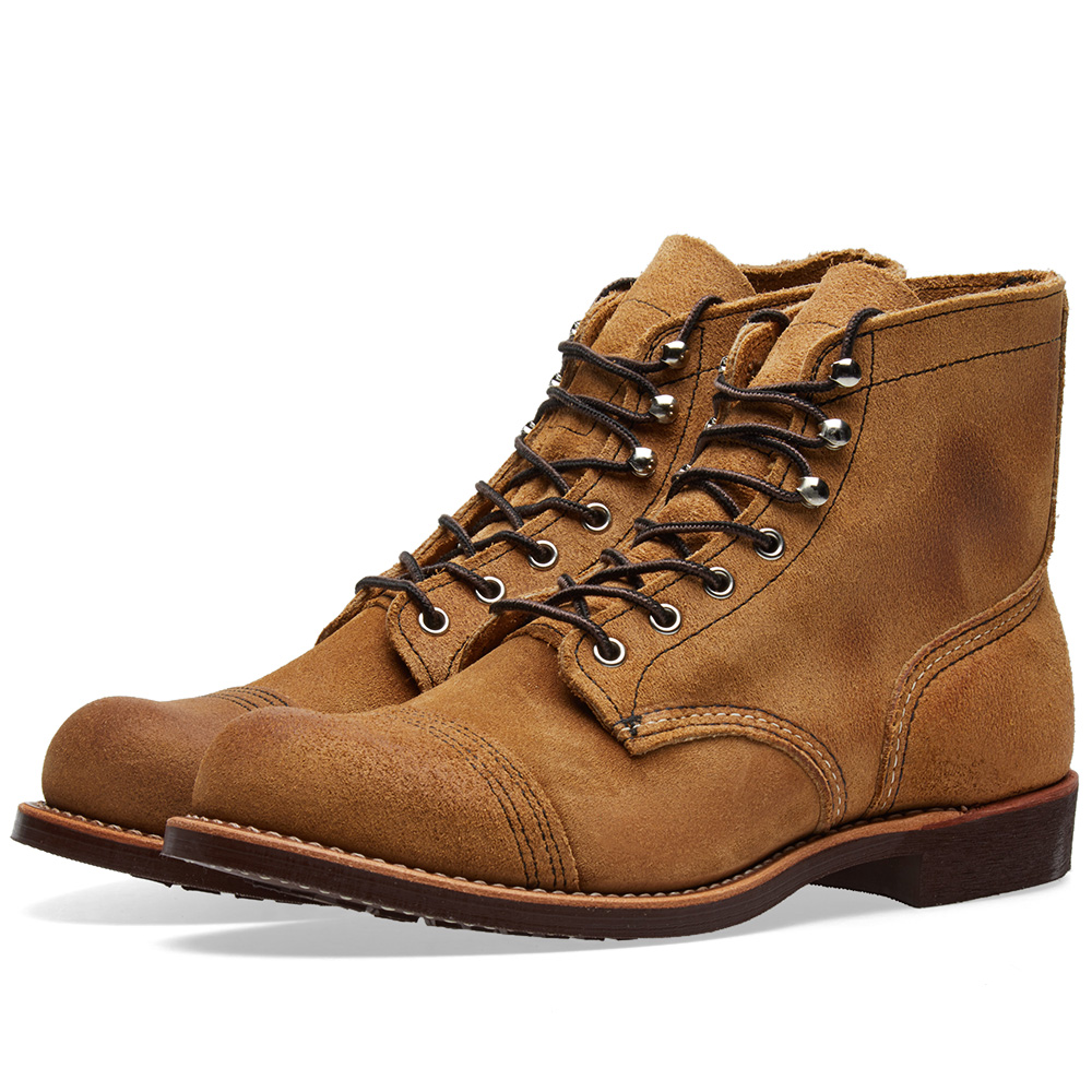"Photo: Red Wing 8083 Heritage 6"" Iron Ranger Boot Brown"